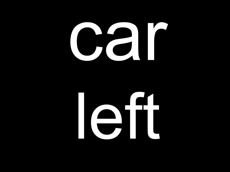 car left