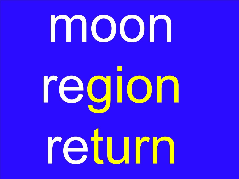 moon region return