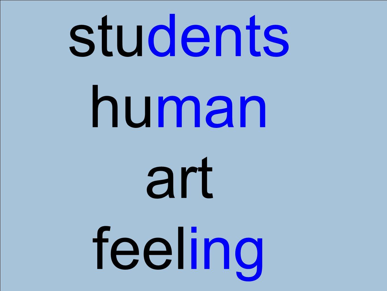 students human art feeling