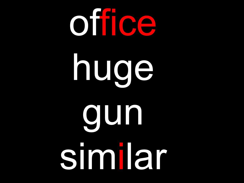 office huge gun similar