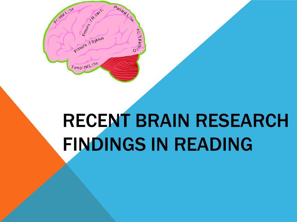 TEACHING READING & THE BRAIN
