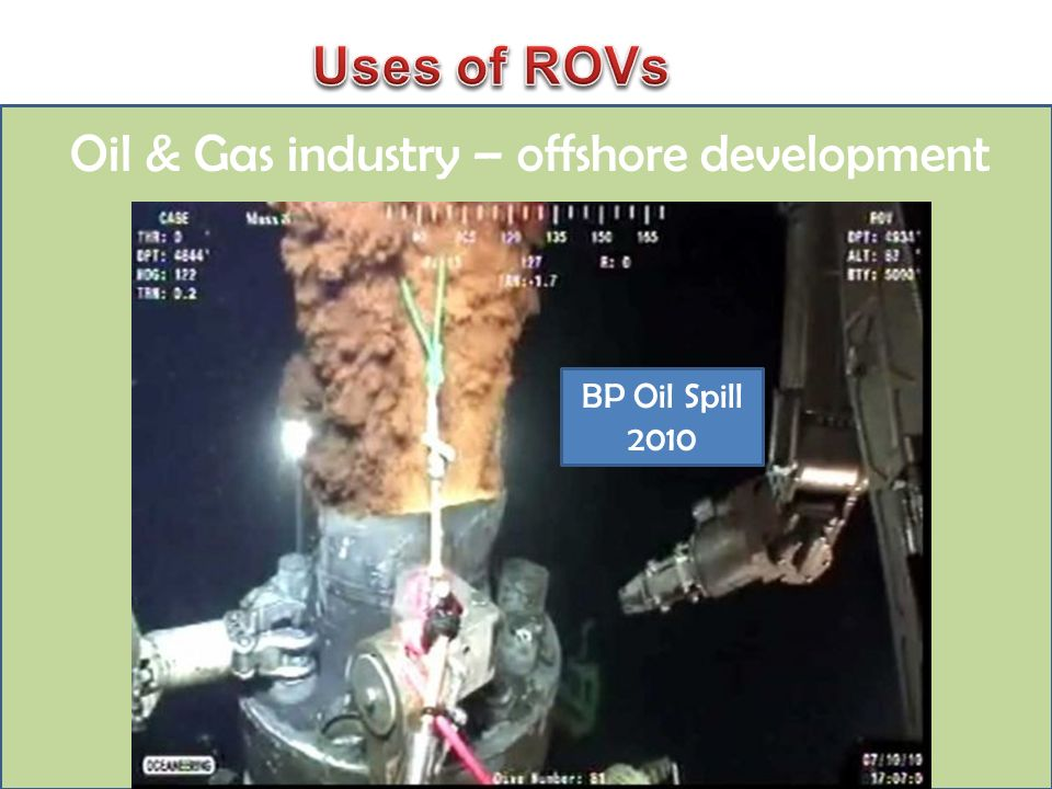 Oil & Gas industry – offshore development BP Oil Spill 2010