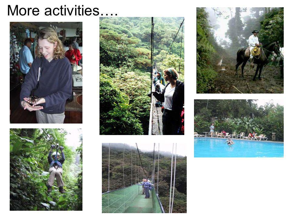 Activities to enjoy in Costa Rica