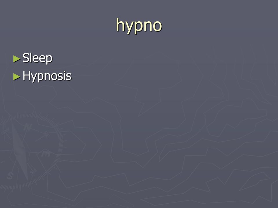 hypno Sleep Sleep Hypnosis Hypnosis