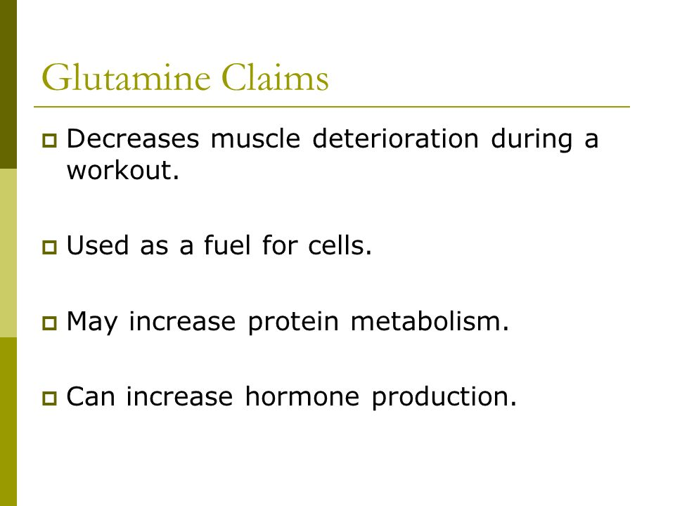 One of the 11 nonessential amino acids.The body produces glutamine from glutamic acid and ammonia.