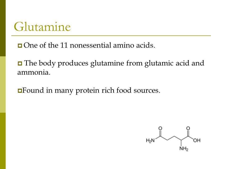 References http://www.online-medical- dictionary.org/L+Glutamine.asp?q=L+Glutamine http://mental-health.emedtv.com/glutamine/does- glutamine-work.html http://www.vitamins-supplements.org/amino- acids/glutamine.php http://en.wikipedia.org/wiki/Glutamine http://genome.wellcome.ac.uk/doc_wtd020808.html http://biochemie.web.med.uni- muenchen.de/Yeast_Biol/03%20Yeast%20Metabolism.pdf http://www.bodybuilding.com/store/glutpep.html http://mental- health.emedtv.com/glutamine/glutamine.html