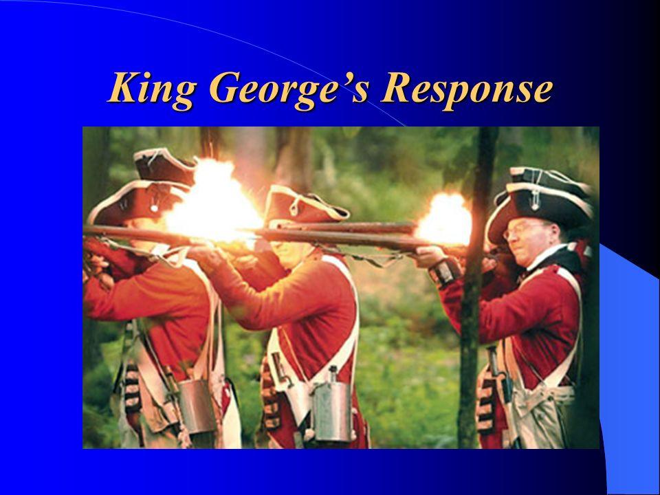 King Georges Response