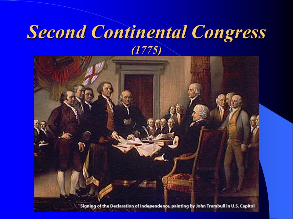 Second Continental Congress (1775)