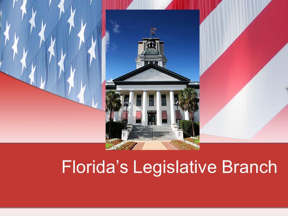 Floridas Legislative Branch