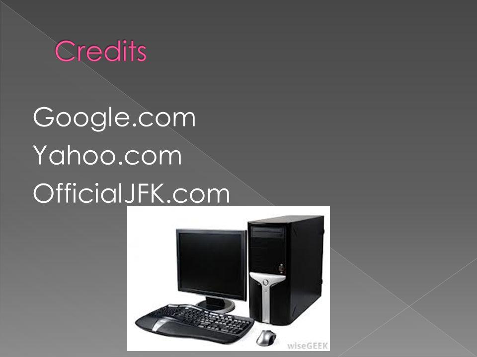 Google.com Yahoo.com OfficialJFK.com