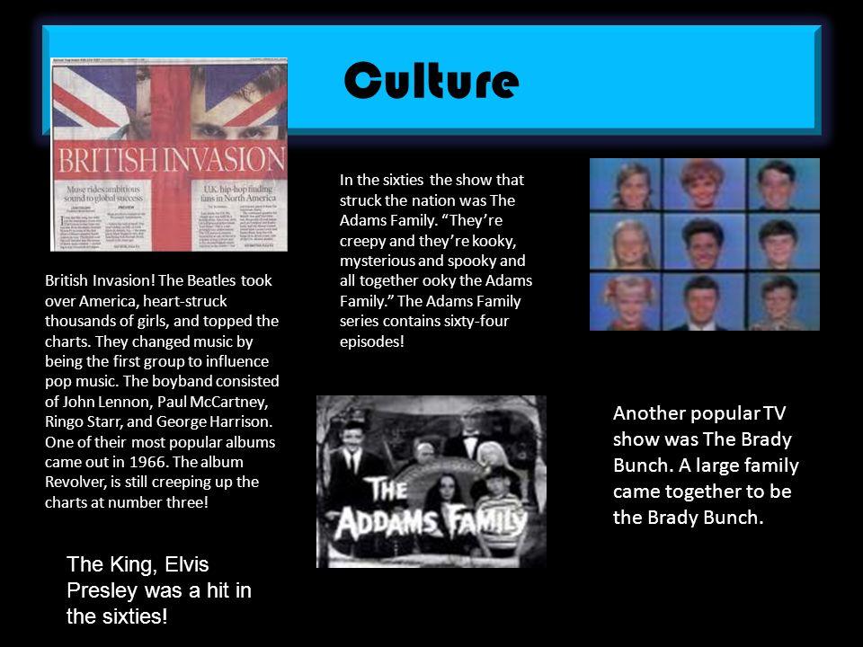 Culture British Invasion.