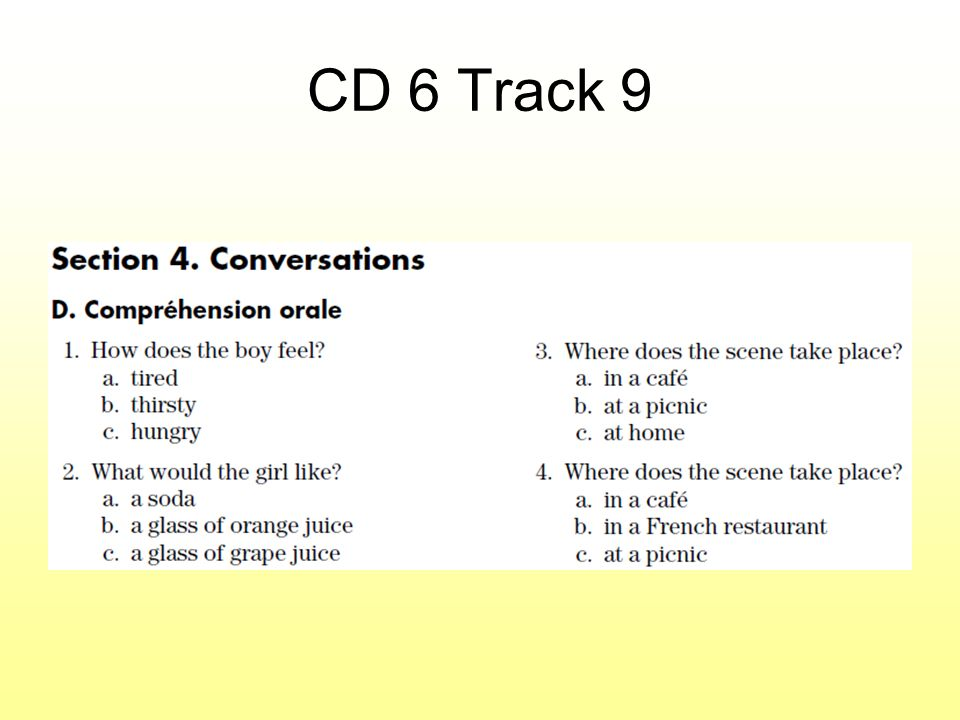 CD 6 Track 9