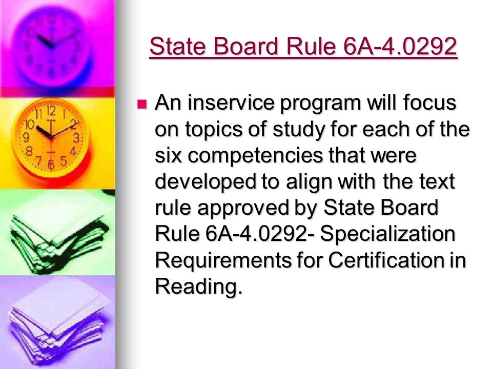 Option 3 LCS Teaching and Learning and Staff Development Departments are currently building an add-on reading endorsement program.