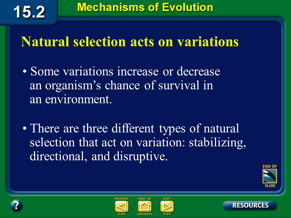Section 15.2 Summary– pages 404-413 When an individual leaves a population, its genes are lost from the gene pool. Changes in genetic equilibrium The