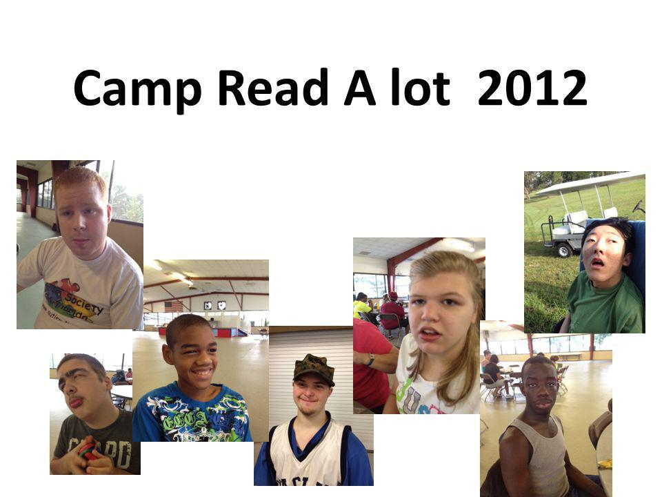 Camp Read A lot 2012