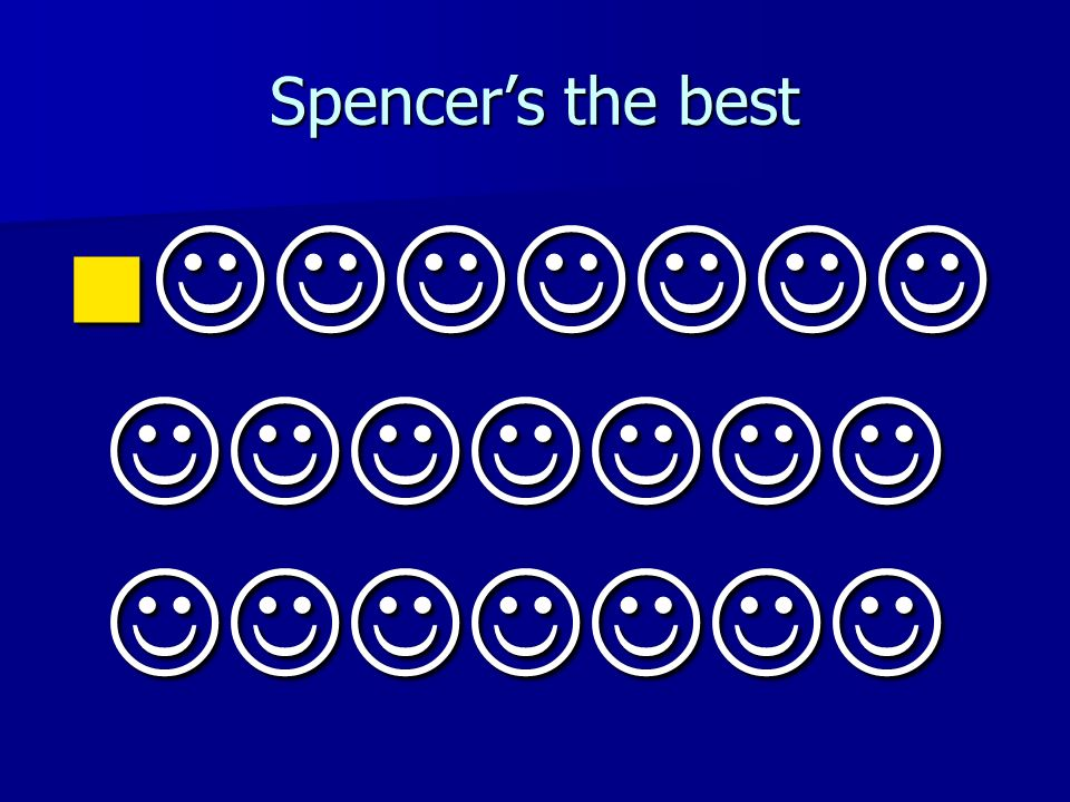 Spencers the best