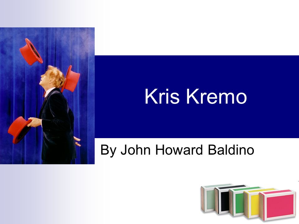 Kris Kremo By John Howard Baldino