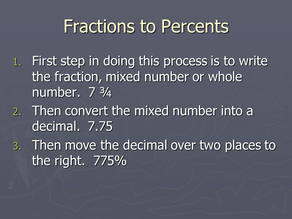 Dividing Dividing is just like multiplying. 1. W rite the problem vertically. 4 3/5 ÷ 1 2/5 2. M ultiply the whole number by the denominator and them