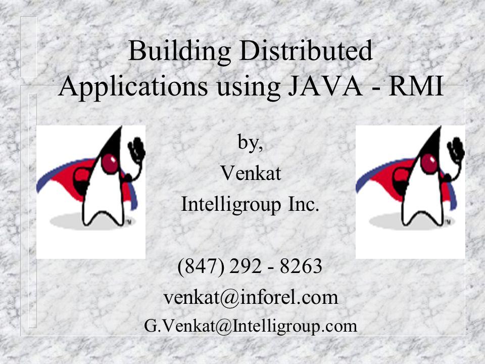 Related Technologies n Leasing n Transactions n Distributed Events n Java Spaces n Jini