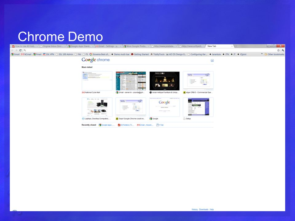 Chrome Demo