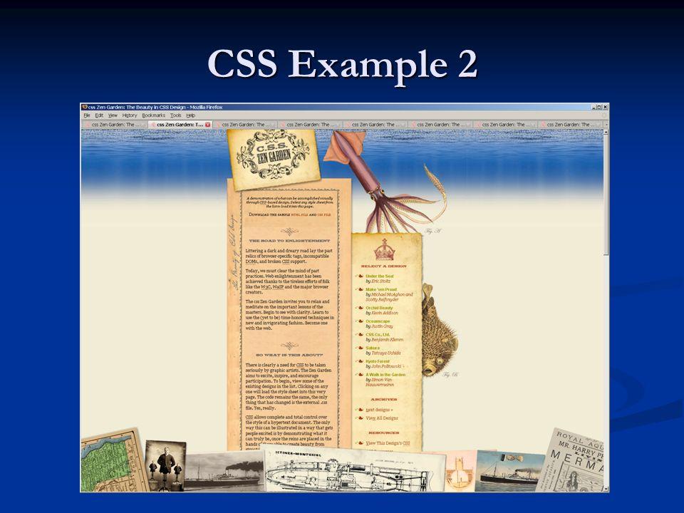 CSS Example 2