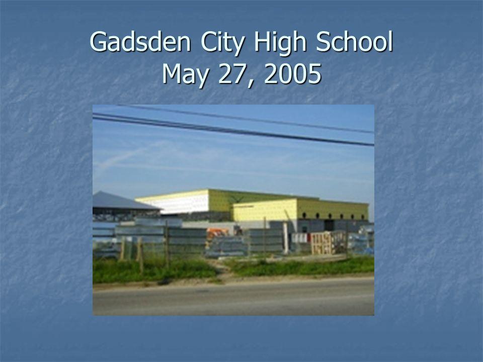 Gadsden City High School May 27, 2005