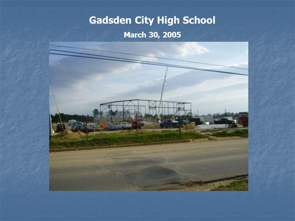 Gadsden City High School March 30, 2005