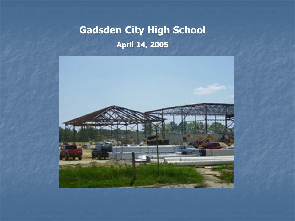 Gadsden City High School April 14, 2005
