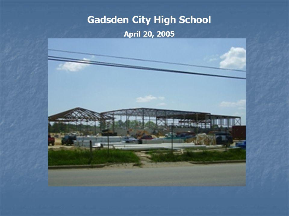 Gadsden City High School April 20, 2005