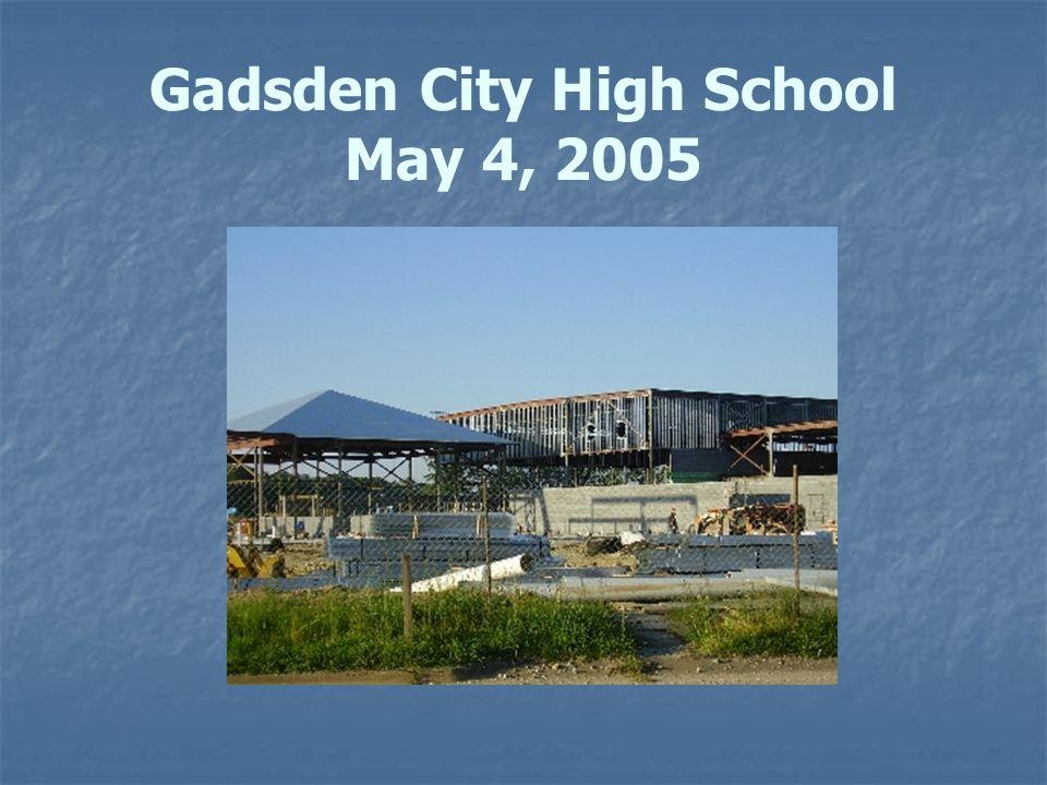 Gadsden City High School May 4, 2005