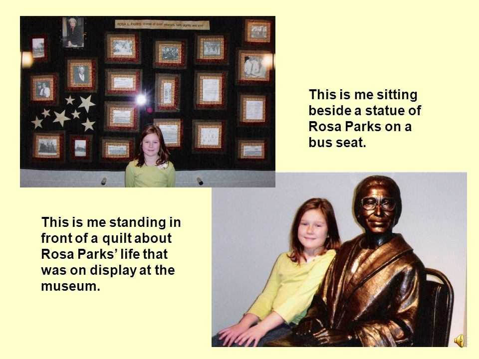 Pictures from my visit to the Rosa Parks Museum in Montgomery, AL