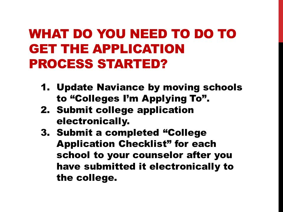 APPLYING TO RUTGERS UNIVERSITY On-line application only December 1 st is the preferred deadline for scholarship consideration No transcripts or recommendation letters required SRAR–Student Reported Academic Record