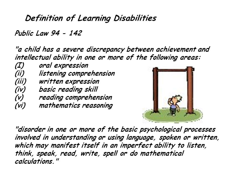 Indicators of Ability - Achievement Discrepancy Look beyond test scores.