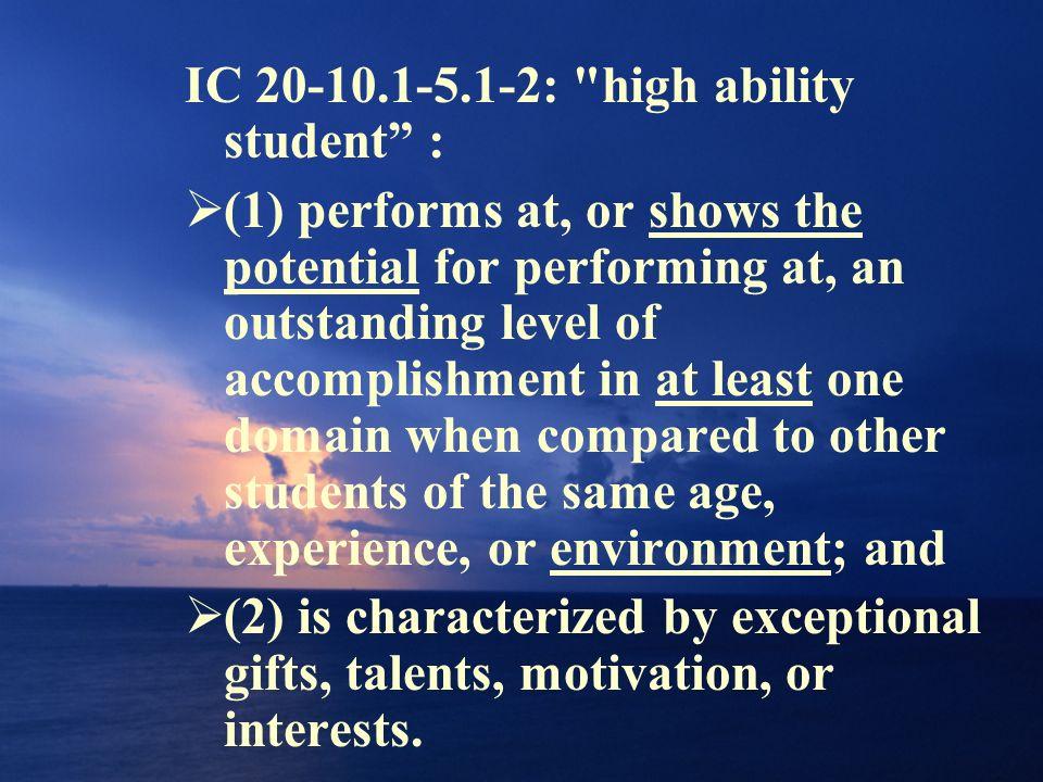 IC 20-10.1-5.1-2: