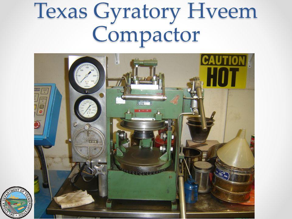 Texas Gyratory Hveem Compactor