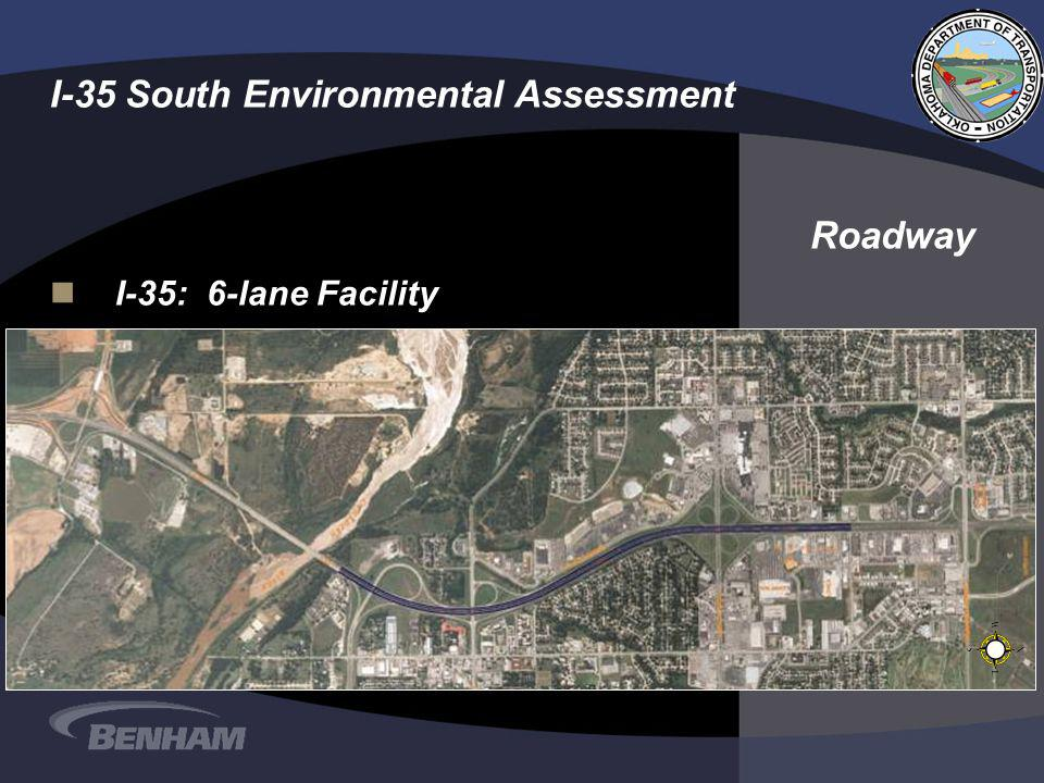 I-35 South Environmental Assessment nI-35: 6-lane Facility Roadway