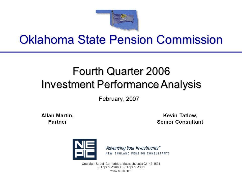 L:\CLIENTS\Oklahoma\IPA\Exec Reports\2006\2006-Q4 Exec Ipa.ppt 10 Composite Performance Periods Ending December 31