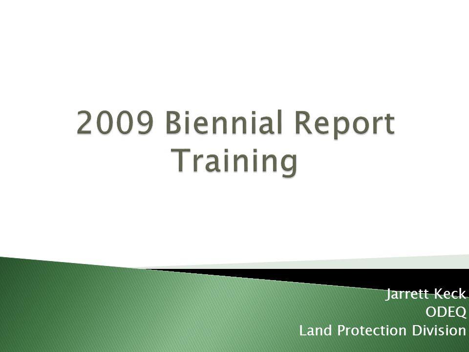Jarrett Keck ODEQ Land Protection Division