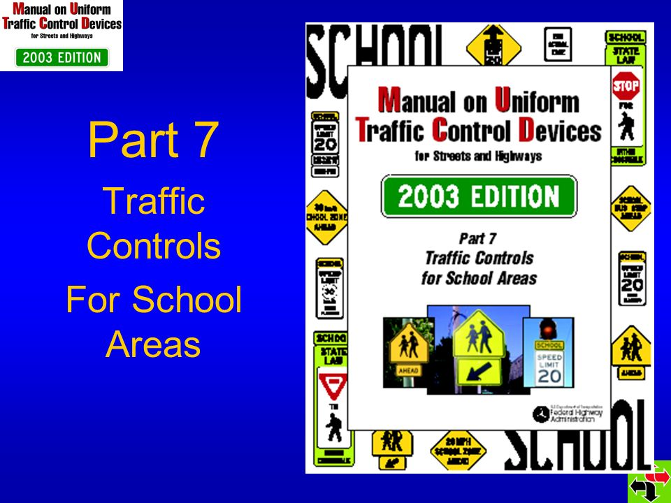 Section 7A.01 STANDARD statement changed to GUIDANCE statement TCDs in school areas should be related to: Volume, Speed Street Width, and Students Age & Number