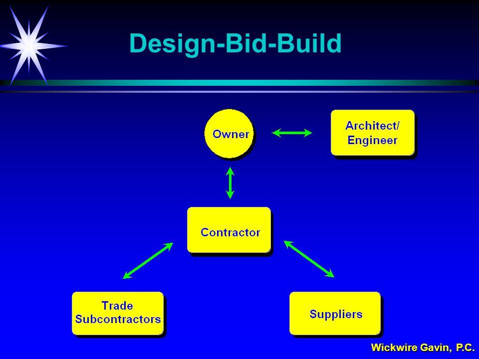 Wickwire Gavin, P.C. Design-Bid-Build