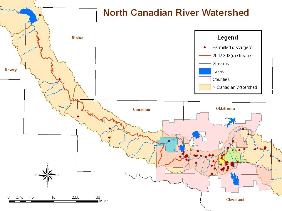 Review Current Studies North Canadian River: Canton Dam to Yukon, including Shell Creek Prepared by Parsons And DEQ North Canadian River & Oklahoma River: Yukon to Dale Prepared by ACOG Presented by Paul Yue