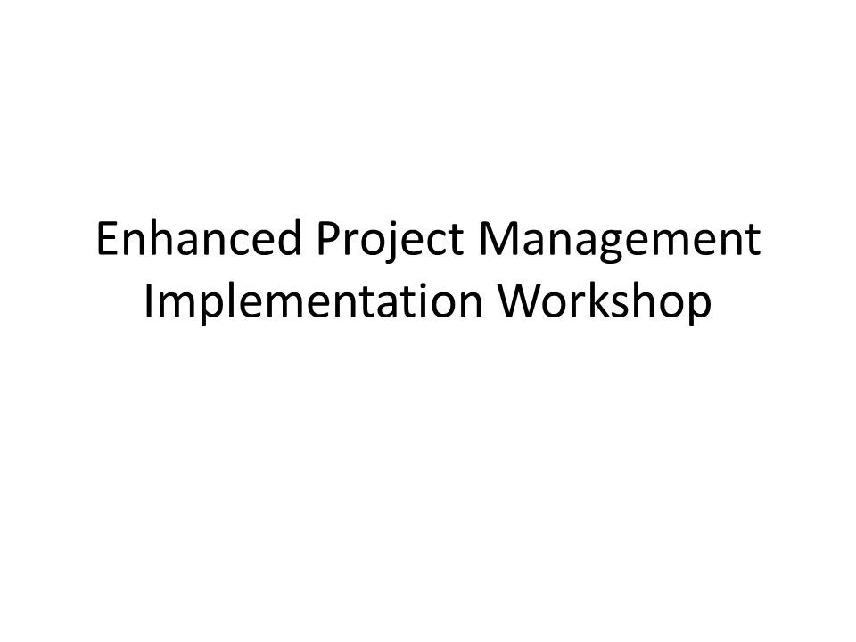 Agenda Vision MnDOT-wide Expectations Implementing Enhanced Project Management in the District Roles, Responsibilities, Authority, Accountability, Competencies Project Lifecycle & Management Processes Implementing Primavera P6 Enterprise Project Governance Recap Expectations & Implementing in the District