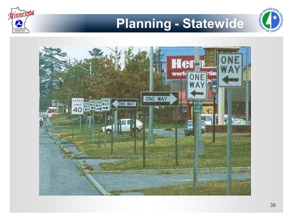 39 Planning - Statewide