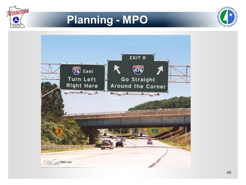 46 Planning - MPO