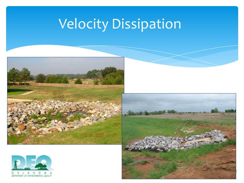 Velocity Dissipation