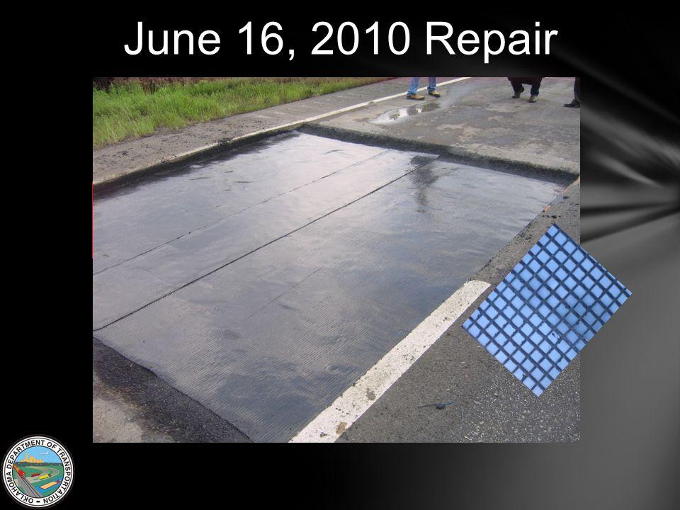 June 16, 2010 Repair
