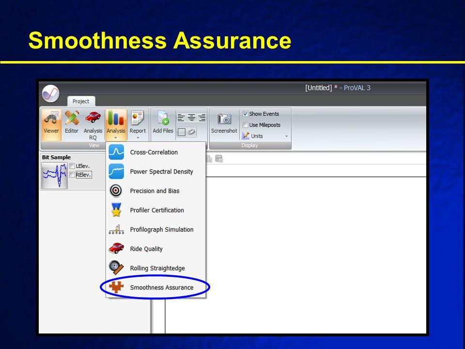 Smoothness Assurance