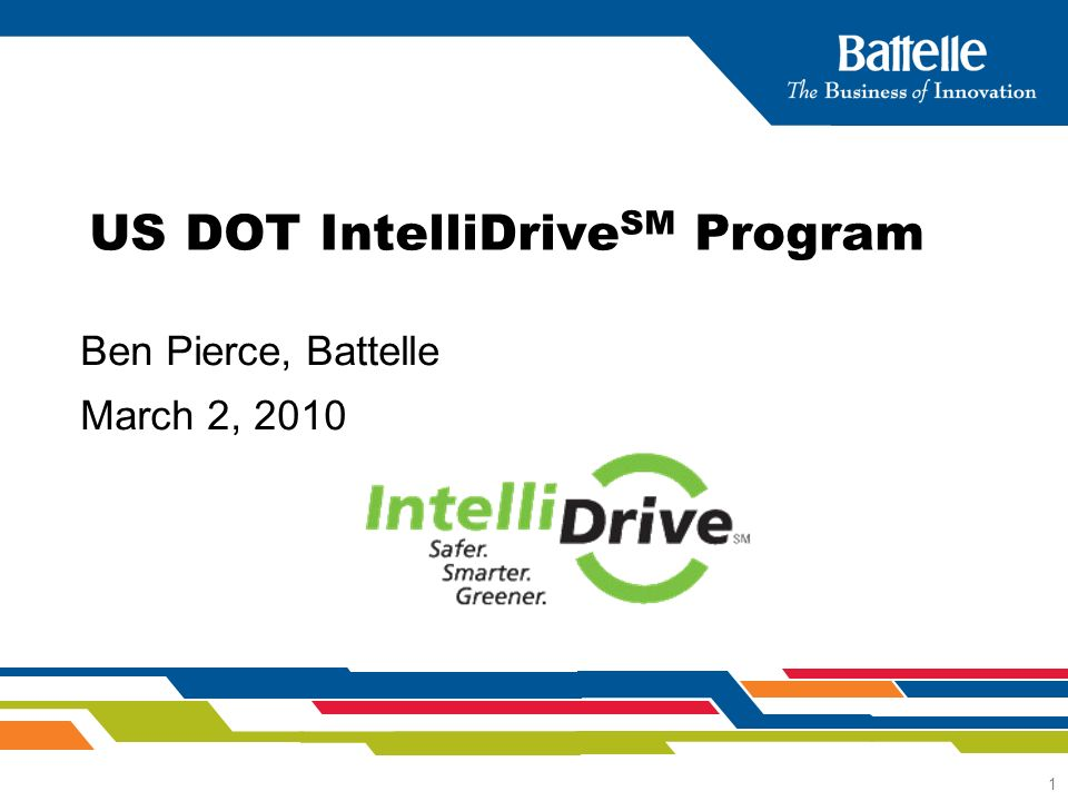 2 What is IntelliDrive SM .