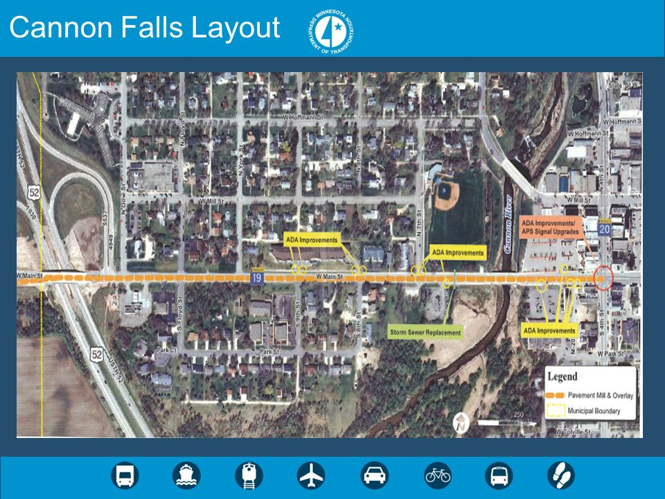 Cannon Falls Layout