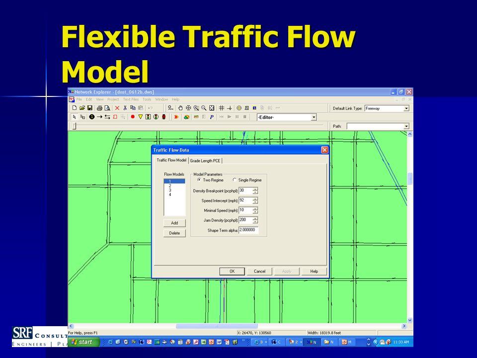 Flexible Traffic Flow Model